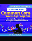 7th Grade Math Common Core Warm-Up Program