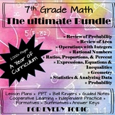 7th Grade Math Curriculum Bundle