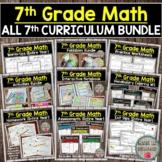 7th Grade Math Curriculum (Entire Year Bundle) Includes So
