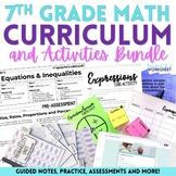 7th Grade Math Curriculum and Activities Bundle