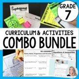 7th Grade Math Curriculum and Activities Bundle