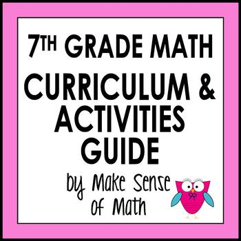 7th Grade Math Curriculum and Activities Guide