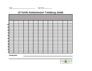7th Grade Math Data Tracking Folder