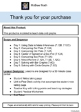 7th Grade Math Data and Graphs Lesson Plans 7.12A, 7.12B, 7.12C, 7.6G