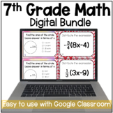 7th Grade Math Digital Resources