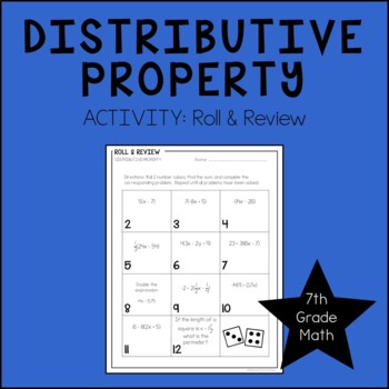 7th Grade Math Distributive Property