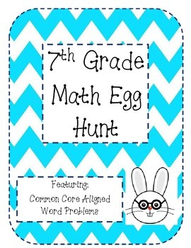 7th Grade Math Easter Egg Hunt