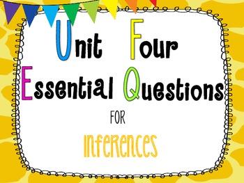 7th Grade Math Essential Questions Giraffe Print *Common Core Aligned*