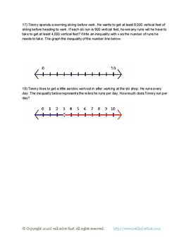 7th Grade Math: Expressions and Equations Unit Test