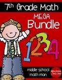 7th Grade Math Full Year Mega Bundle
