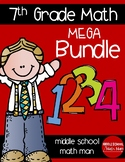 7th Grade Math Full Year Mega Bundle