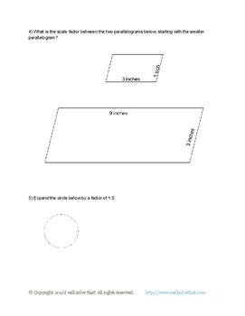 7th Grade Math: Geometry 7.G.A.1