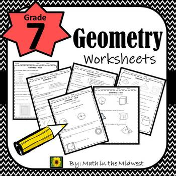 7th Grade Math Geometry Worksheets