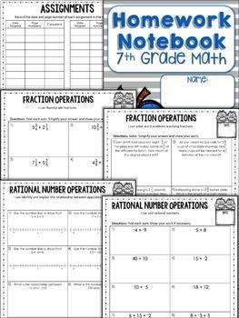 Help with 7th grade math homework