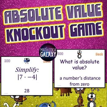 7th Grade Math Knockout Game Bundle