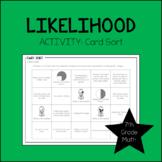 7th Grade Math Likelihood Card Sort 7.SP.5