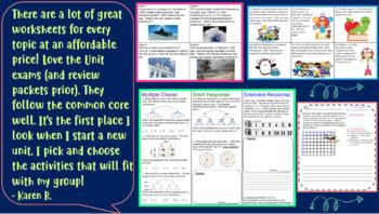 7th Grade Math Mega Bundle ~ 70+ Amazing Resources