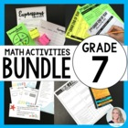 7th Grade Math Common Core Bundle {A Growing Bundle}