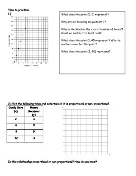 7th Grade Math Module 1 Ratios and Proportions Week 2