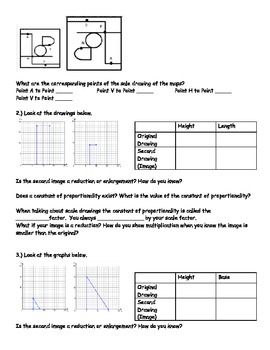 7th Grade Math Module 1 Scale Drawings Day 1: Introduction to Scale Drawings