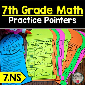 7th Grade Math Number Sense Practice Pointers 7.NS