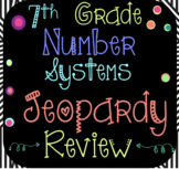 7th Grade Math: Number Systems Unit ~ Jeopardy Review