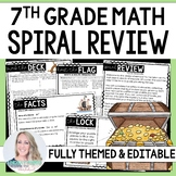 7th Grade Math Pirate Spiral Review