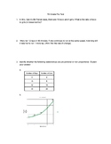 7th Grade Math Pre-test/Post-test (Eureka)