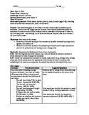 7th Grade Math - Probability Lesson and Materials