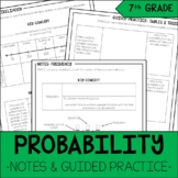 7th Grade Math Probability Notes & Guided Practice