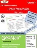 7th Grade Math Puzzle