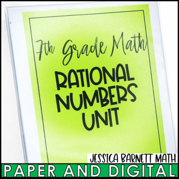 Rational Numbers Big Bundle
