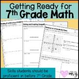 7th Grade Math Readiness / Diagnostic for 6th Graders Risi
