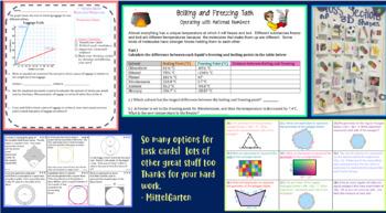 7th Grade Math Resource Bundle