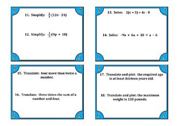 7th Grade Math Review