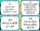 7th Grade Math Review Bingo