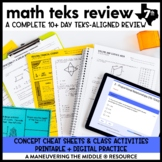 7th Grade Math TEKS Test Prep and Review