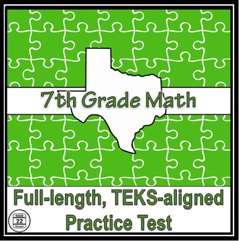 7th Grade Math TEKS Practice Test
