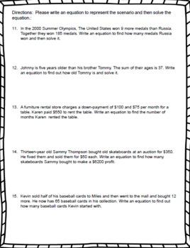7th Grade Math – Simplifying Algebraic Expressions