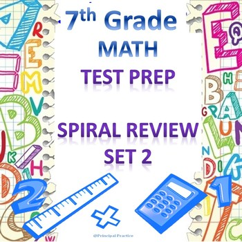 7th Grade Math Spiral Review Set 2