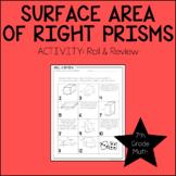 7th Grade Math Surface Area Activity