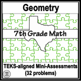 7th Grade Math TEKS Geometry