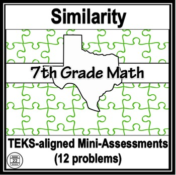 7th Grade Math TEKS Similarity