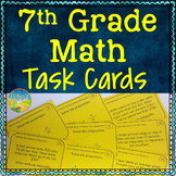 7th Grade Math Task Cards