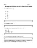 7th Grade Math Test Prep:(SBAC, PARCC, TCAP): Year-End Practice Assessment