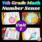 7th Grade Math Unit 1 Number Sense