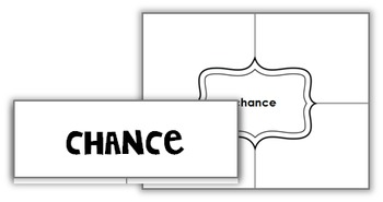 7th Grade Math Vocabulary Word Wall (SET 5: Statistics and Probability)
