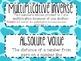 7th Grade Math Word Wall Vocabulary Cards **Neon Giraffe Print**