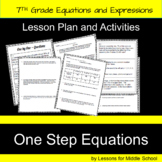 7th Grade Math – Writing and Solving One-Step Equations
