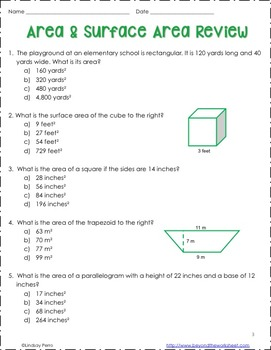 Delicate image within 7th grade math test printable